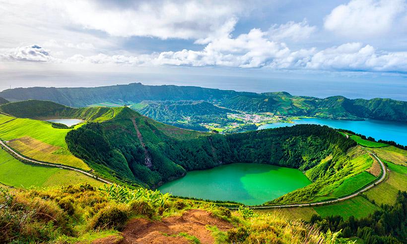 Azores , destino paradisíaco